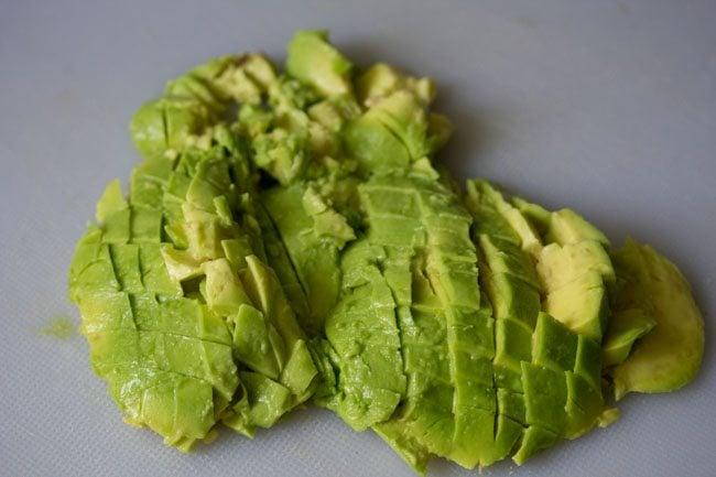 avocado for avocado garlic toast recipe