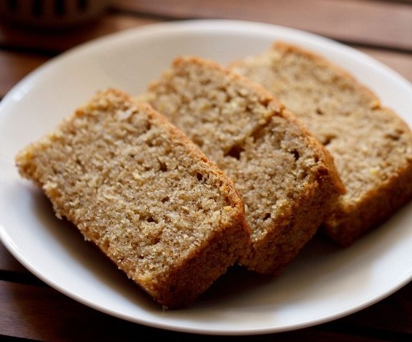 banana bread - veg world recipes