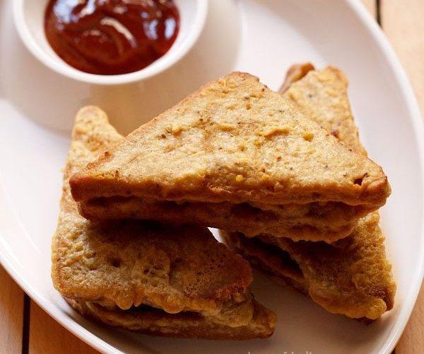 bread pakora - snacks recipes