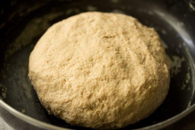 dough to make broccoli paratha recipe