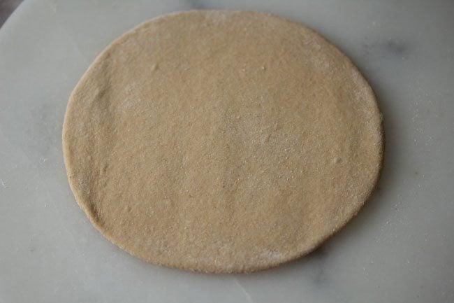 dough for making broccoli paratha recipe
