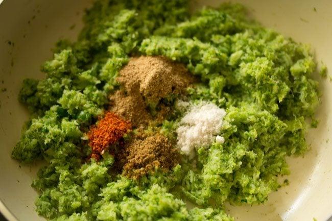 spices to prepare broccoli paratha recipe