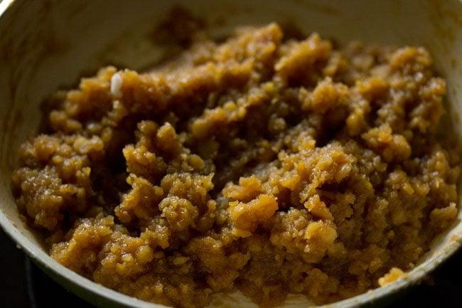 mixture to make sweet kozhukattai recipe