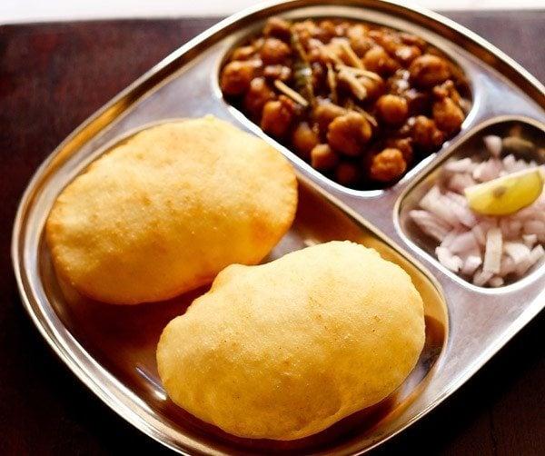 bhature - street food recipes