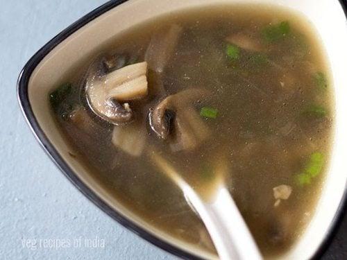 Mushroom Soup Recipe How To Make Mushroom Soup Recipe