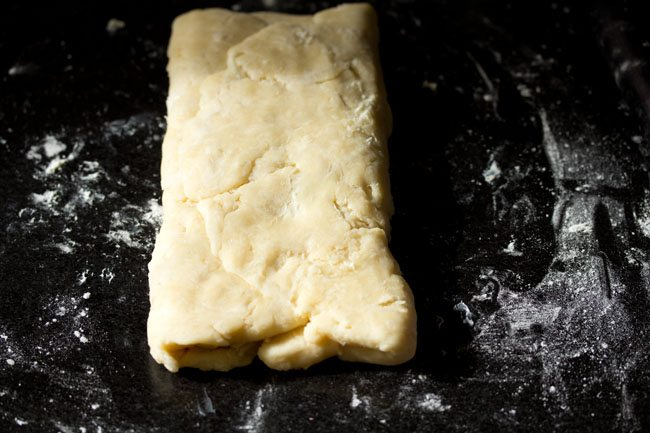making puff pastry recipe