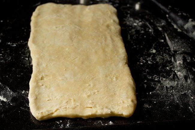 flour for preparing puff pastry recipe