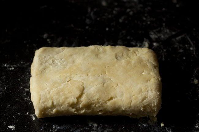 preparing puff pastry recipe