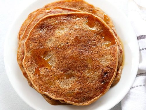 eggless banana pancake recipe