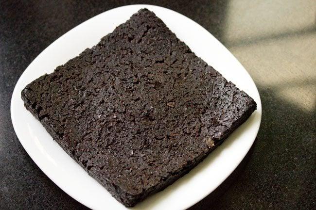 making eggless brownie recipe