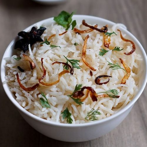 garam masala rice recipe