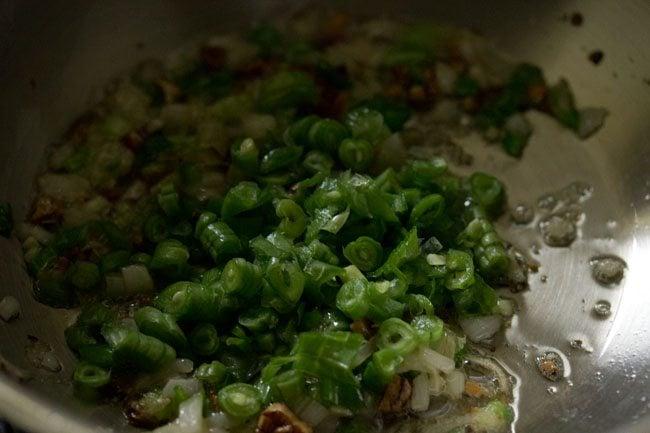 making burnt garlic fried rice recipe