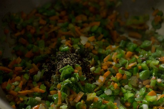 pepper for burnt garlic fried rice recipe