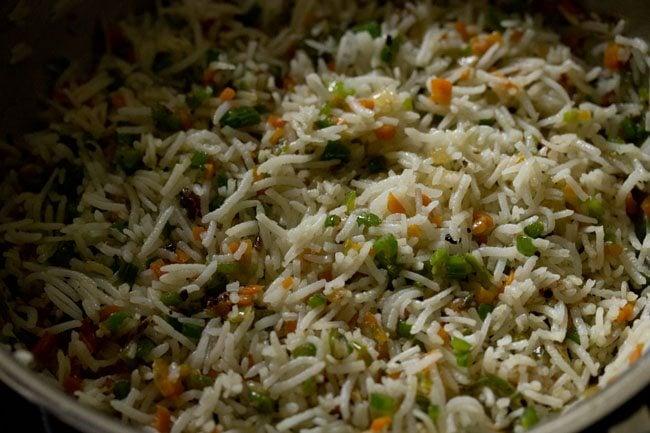 stir fry burnt garlic fried rice recipe
