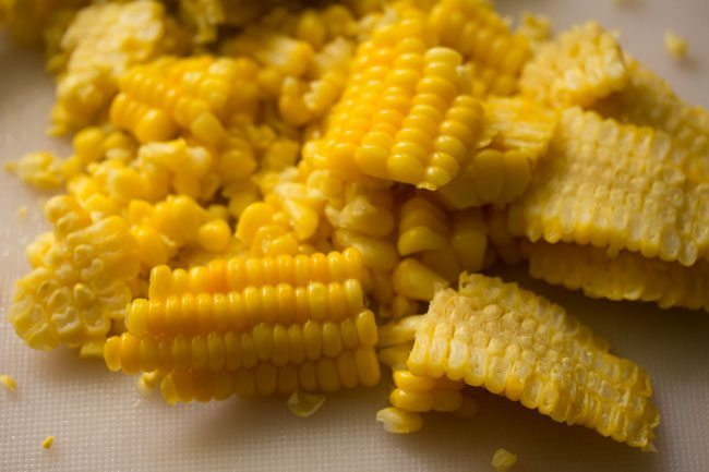 sweet corn for masala corn recipe