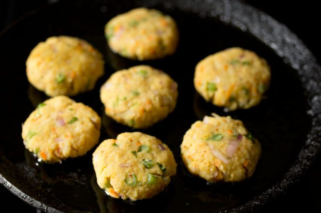 making poha cutlet recipe