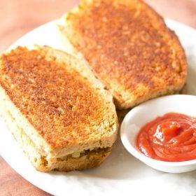 potato sandwich recipe, tawa sandwich