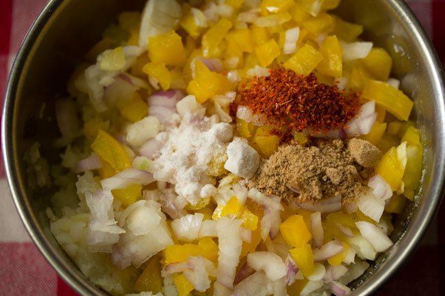spices to make potato sandwich recipe