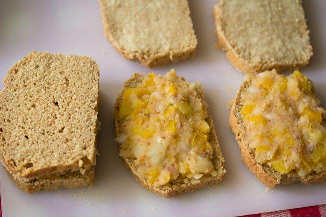 stuffing for potato sandwich recipe
