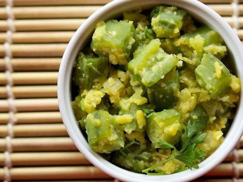 ridge gourd bhaji recipe