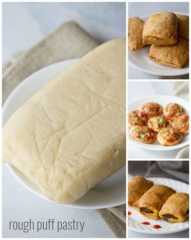 rough puff pastry recipe