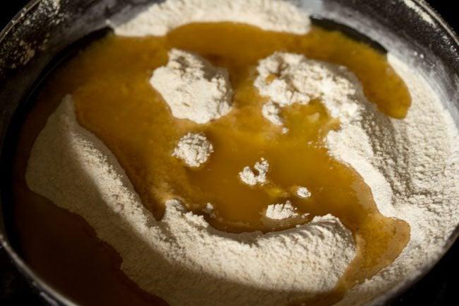 ghee to make urad dal laddu recipe
