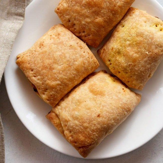 veg puff recipe, curry puff recipe, vegetable puff recipe