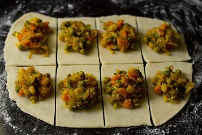 dough for preparing veg puff recipe