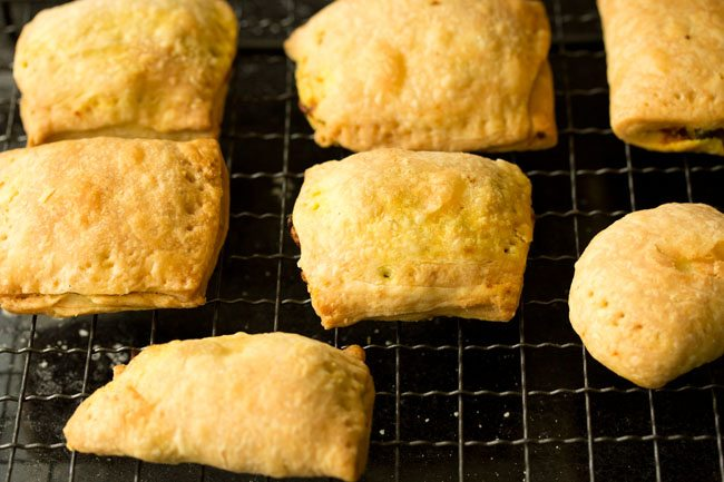baking - veg puff recipe