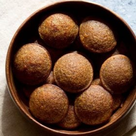 wheat appam recipe, sweet paniyaram recipe with wheat flour, instant wheat paniyaram recipe