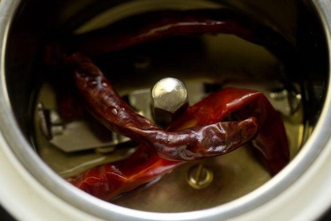 chilies for ambur veg biryani recipe