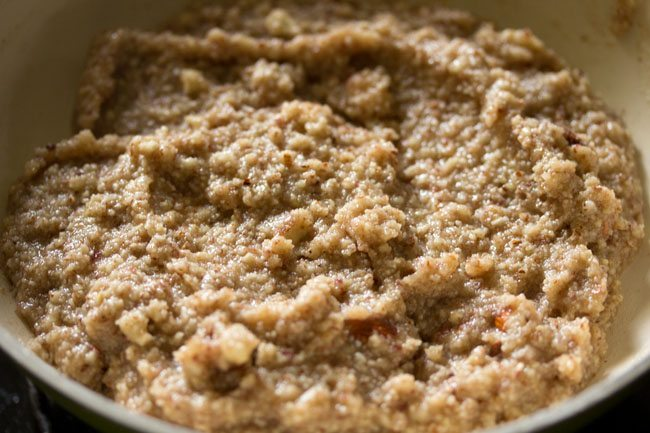 mixture for making badam kaju katli recipe