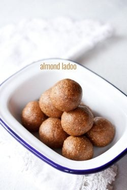 badam ladoo recipe, how to make badam ladoo recipe | ladoo recipes