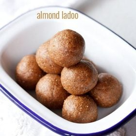 badam ladoo recipe, almond ladoo recipe