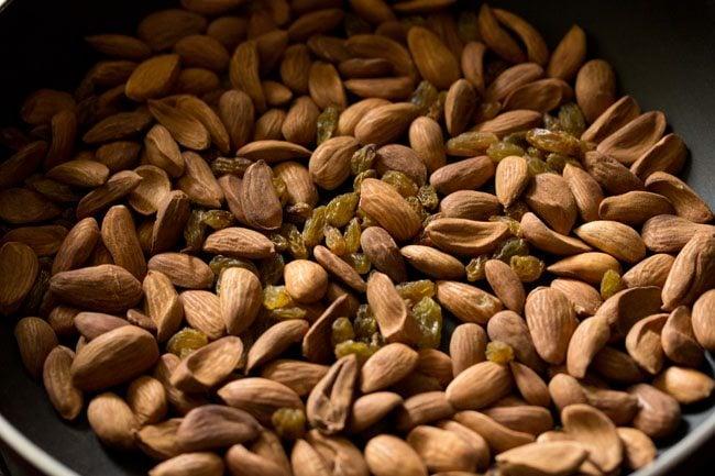 raisins for making badam ladoo recipe