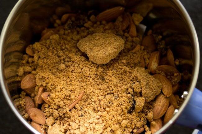 jaggery for making badam ladoo recipe