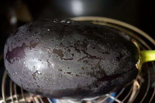 baingan for baingan ka chokha recipe