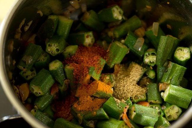 spices for bendkaya pulusu recipe