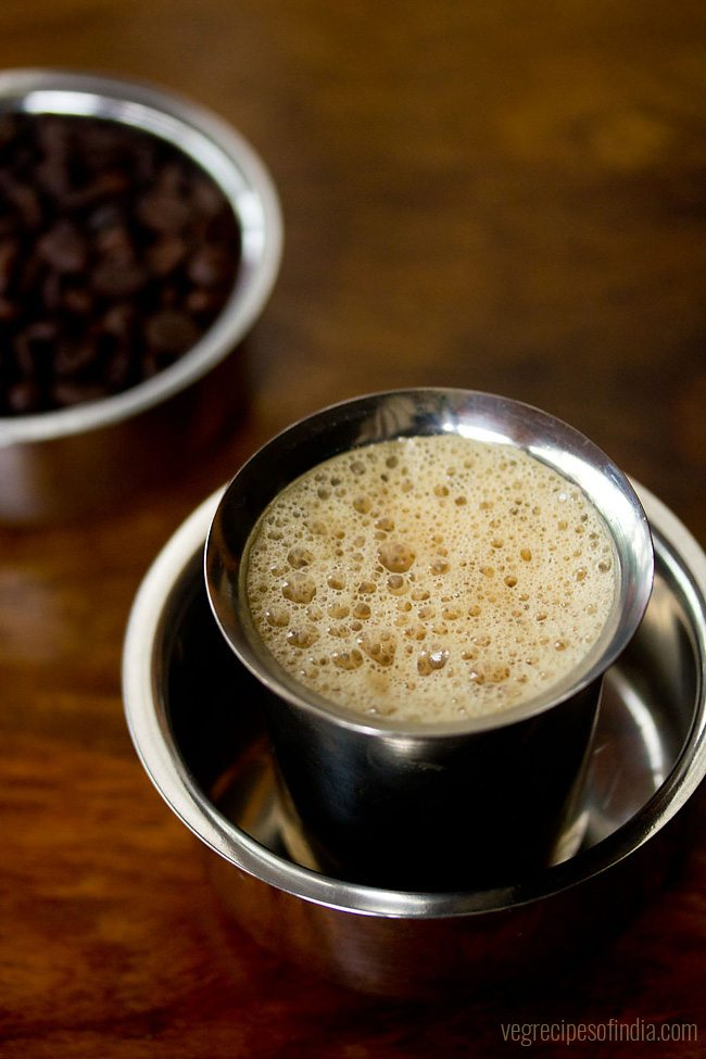 filter coffee recipe south indian