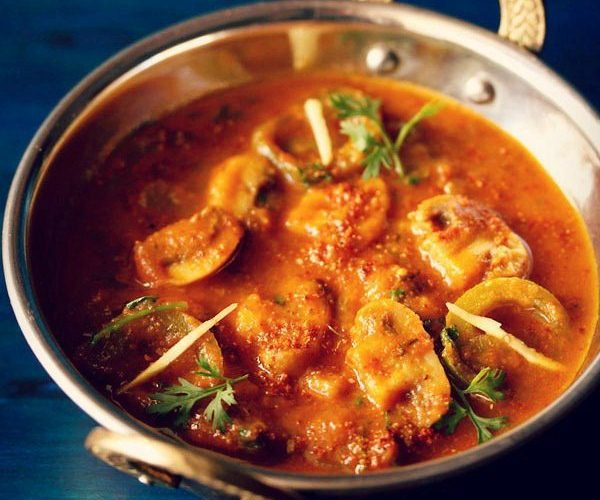 Top 10 indian lunch dinner or main course recipes best indian veg kadai mushroom recipe forumfinder Choice Image