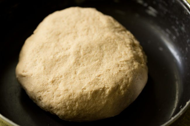 dough for litti chokha recipe