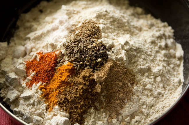 spices for masala paratha recipe