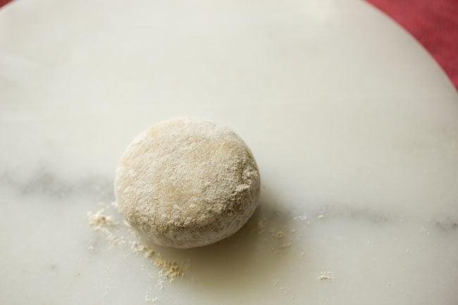 dough for masala paratha recipe