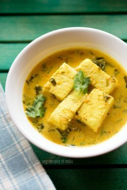 methi paneer recipe, how to make methi paneer masala recipe
