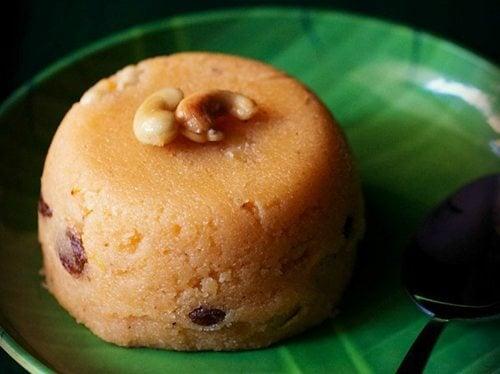 milk kesari recipe