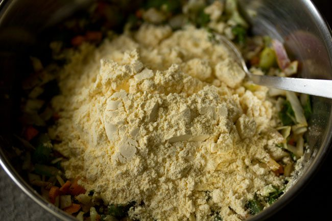gram flour added