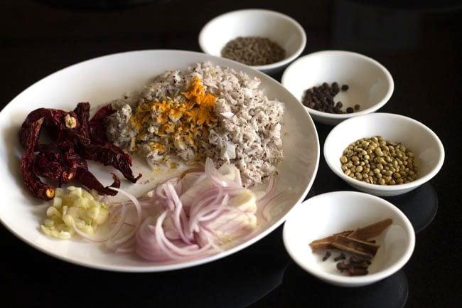 mushroom masala recipe