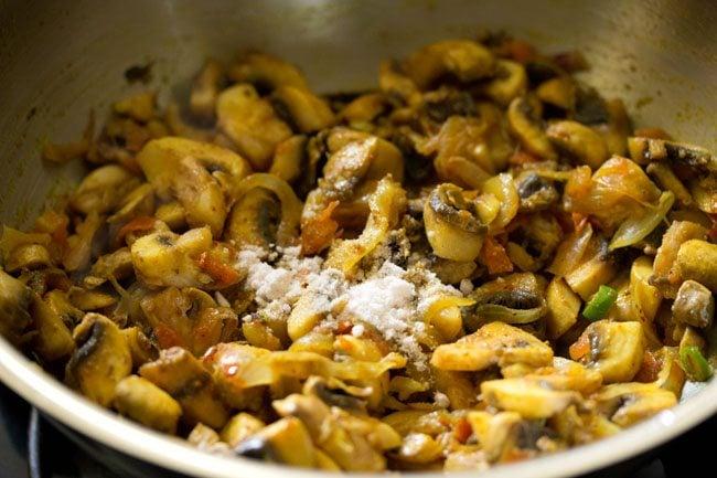 salt for making mushroom puffs recipe