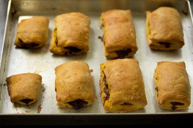 baked puffs - mushroom puff recipe