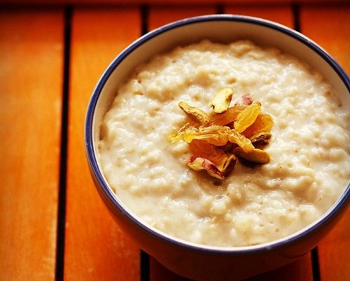 oats porridge recipe